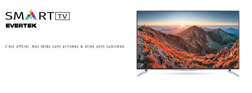 evertek le smart tv made in tunisia pr t conqu rir le march. Black Bedroom Furniture Sets. Home Design Ideas