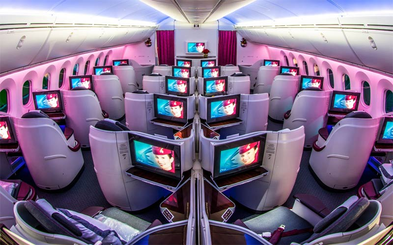 qatar airways dreamliner doha tunis
