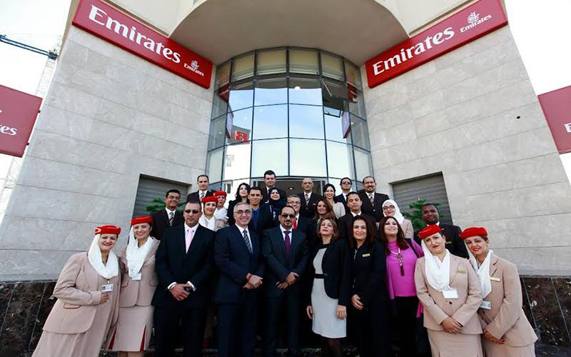 Les nouveaux bureaux 5 toiles emirates airlines tunis for Salon 5 etoiles tunisie