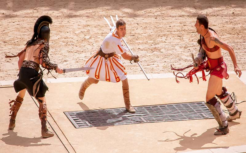 journees romaines el jem