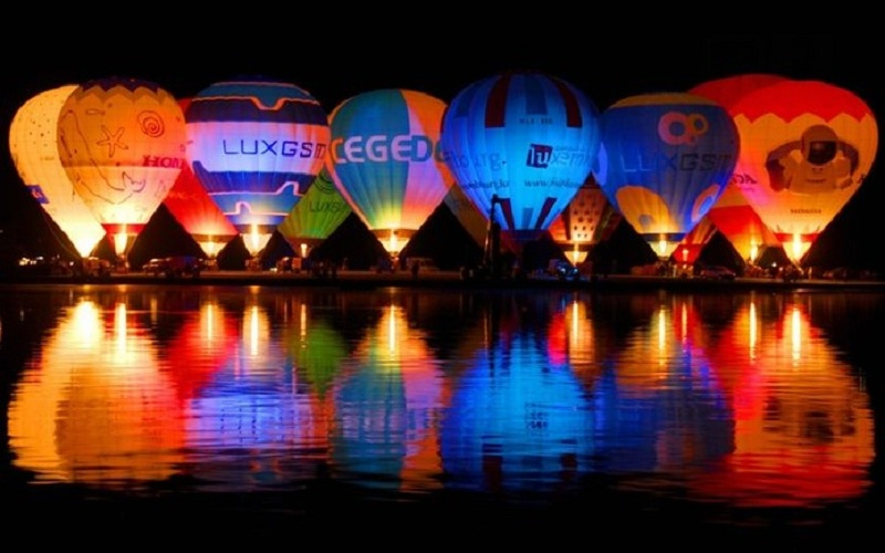 soirees night glow tunisie