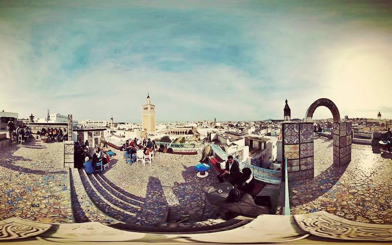 La Medina de Tunis Vidéo 360°