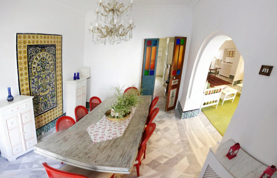 Top 5 maisons d h tes de luxe en tunisie for Architecture tunisienne maison